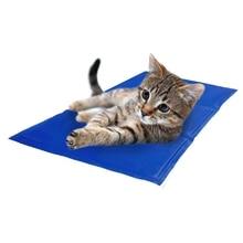 30X30CM Summer Keep Cool Pet Sleeping Pad Small Dog Cat Cooling Mat Pet Ice Pad Teddy Mattress Pet Cool Mat Bed Cat Cushion.