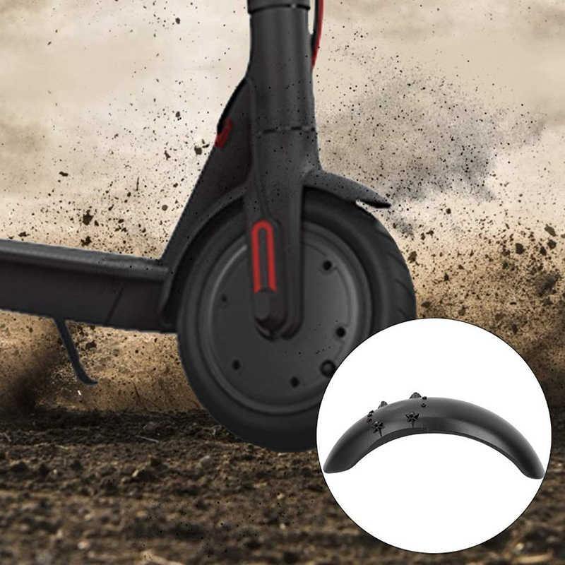 Conjunto de proteção para fender traseiro, para ninebot es1 es2 es3 es4 scooter elétrico, peças para fender scooter asa para lama guarda de proteção