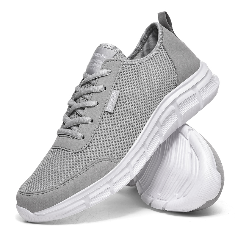 Men Casual Shoes Breathable Outdoor Mesh Light Sneakers Male Fashion Casual Shoes 2020 New Comfortable Casual Footwear Men Shoes 4