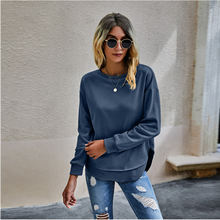 New autumn winter woman sweatshirt without hat aesthetic clothes