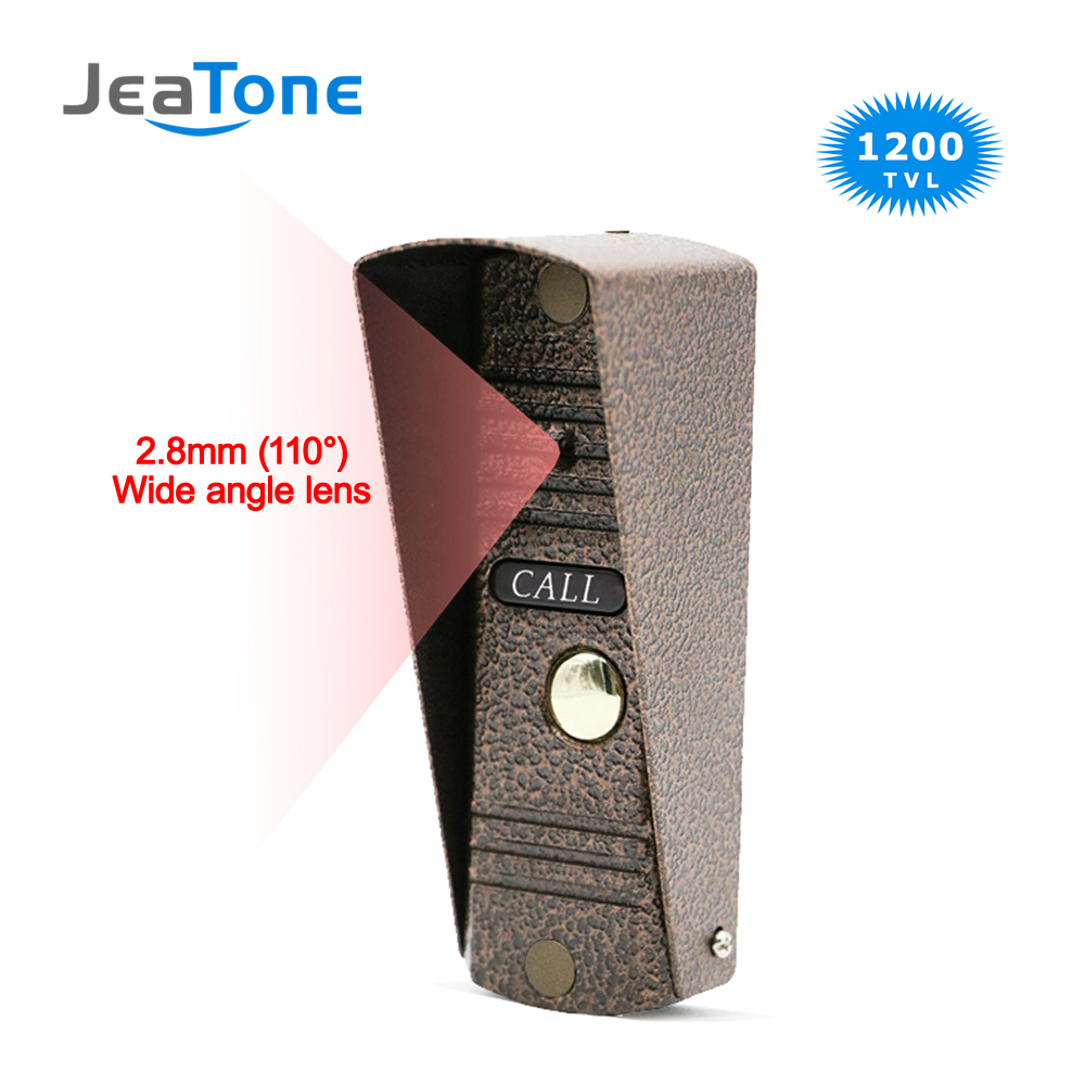 Door Phone Intercom Home Security Video Intercom Apartment Doorbell Video IR Night Vision Outdoor Call Panel Wide Angle Lens
