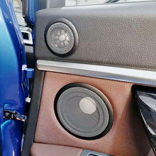 Автомобильная задняя дверь твитер КРЫШКА ДЛЯ BMW F20 F22 F30 F32 F48 серия ВЧ аудио динамик чехол отделка Высокий Шаг громкоговоритель украшения