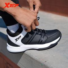 Xtep Модные мужские баскетбольные туфли для мужчин толстая подошва