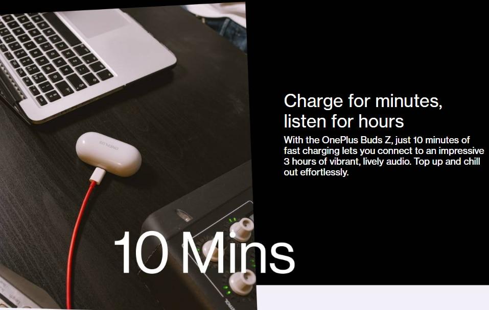 OnePlus Buds Z Wireless Earbuds 9