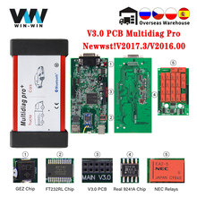 Multidiag Pro + V3.0 NEC Relays 2017.3 2016.00 with Keygen for Car/Truck Bluetooth Scanner OBD OBD2 Car Diagnostic Auto tool VCI
