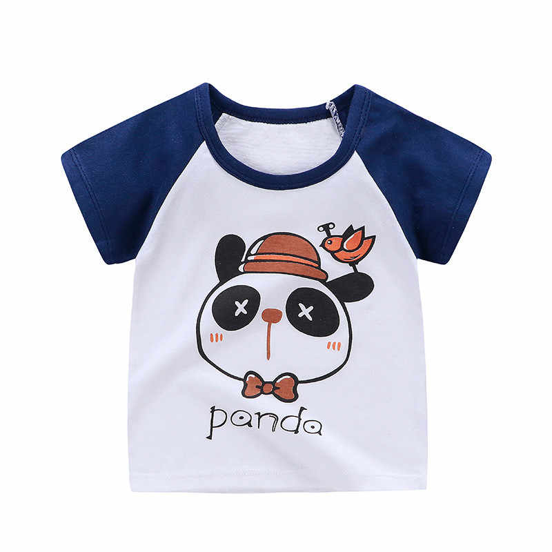 Hot Sale Girls Baby T-shirts 2019 High Quality Fashion Kids T-shirts Lovely Casual O-neck Short Sleeve 100% Cotton Kids T-shirt