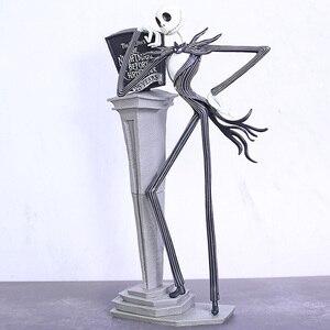Image 2 - Новый Кошмар перед Рождеством фигура Джек стул специальный 25 лет Джек Скеллингтон фигура ПВХ Фигурки Рождественский подарок
