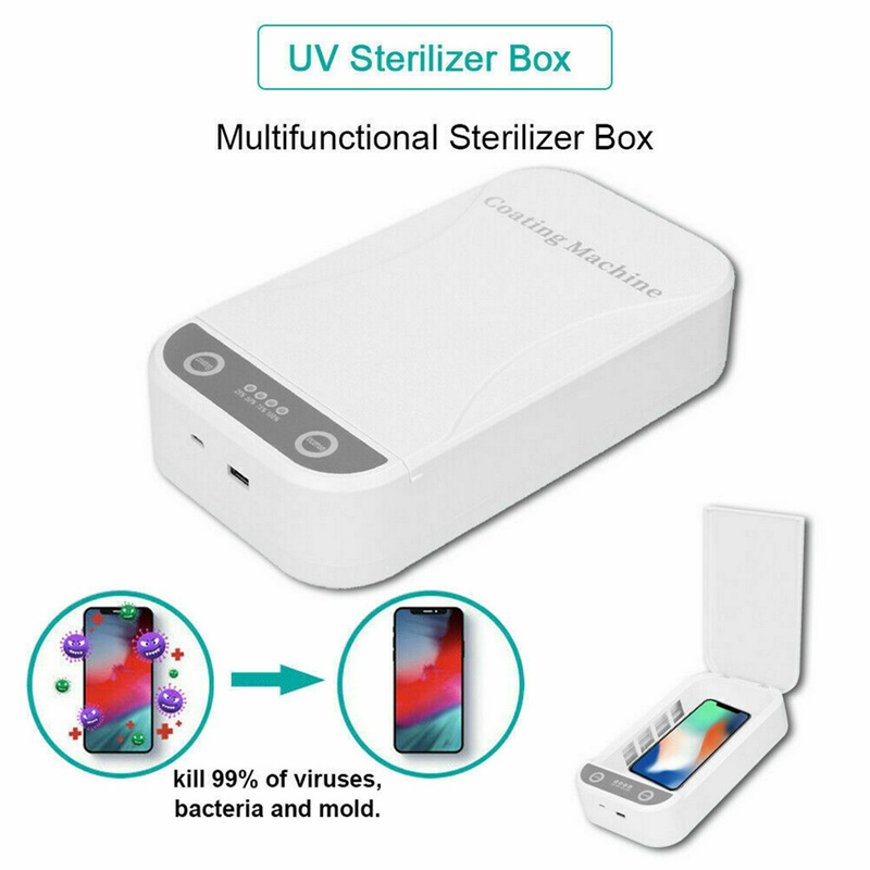 Multifunction Automatic UV Sterilizer UV Sterilizer Disinfection Box For Mask Toothbrush Mobile Phone Beauty Underwear Beauty