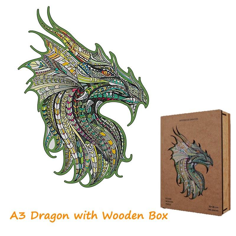 WoodenBox A3 Dragon