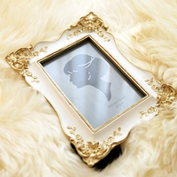 Hot Sale Carved Resin Photo Frame Home Decoration 6 Inch Photo Frame