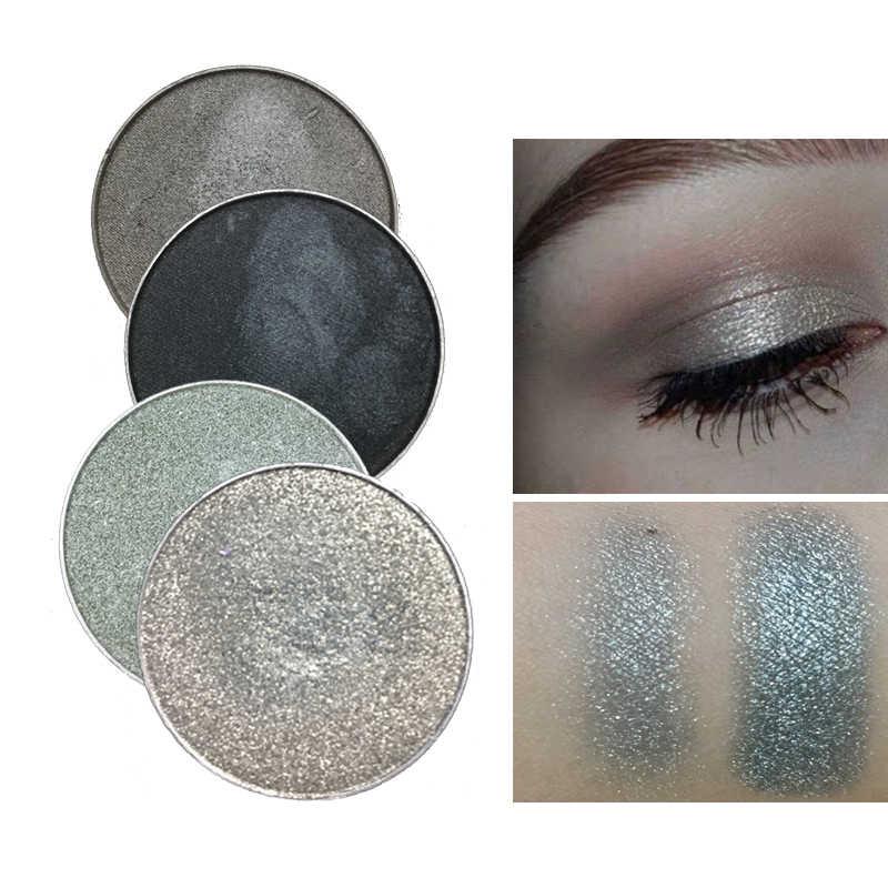 สีแดงสีดำสีขาวและสีดำสีอายแชโดว์ Matte Pigment กันน้ำ Glitter อายแชโดว์แต่งหน้า Beauty Make Up Cosmetic Palette