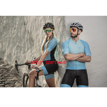 202Couple cycling wear short Sleeve cycling Triathlon suit clothes Cycling Skinsuit set Maillot Ropa Ciclismo women jumpsuit 2020 orca woman triathlon cycling skinsuit summer sleeveless swimwear custom bike suit ciclismo cycling clothes jumpsuit