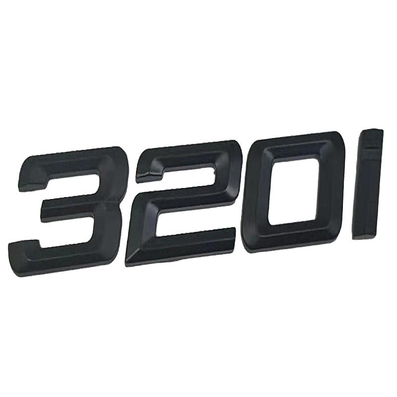 328i Rear Trunk Lid Emblem Badge Carbon Fibre Letters for BMW E46 E90 E92 F30