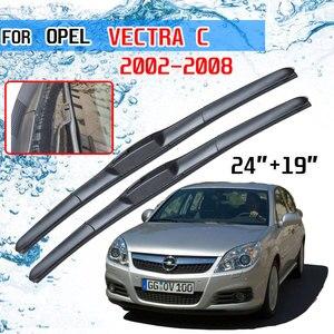 Image 1 - For Vauxhall Opel Vectra C 2002 2003 2004 2005 2006 2007 2008 Accessories Car Front Windscreen Wiper Blades Cutter U J Hook