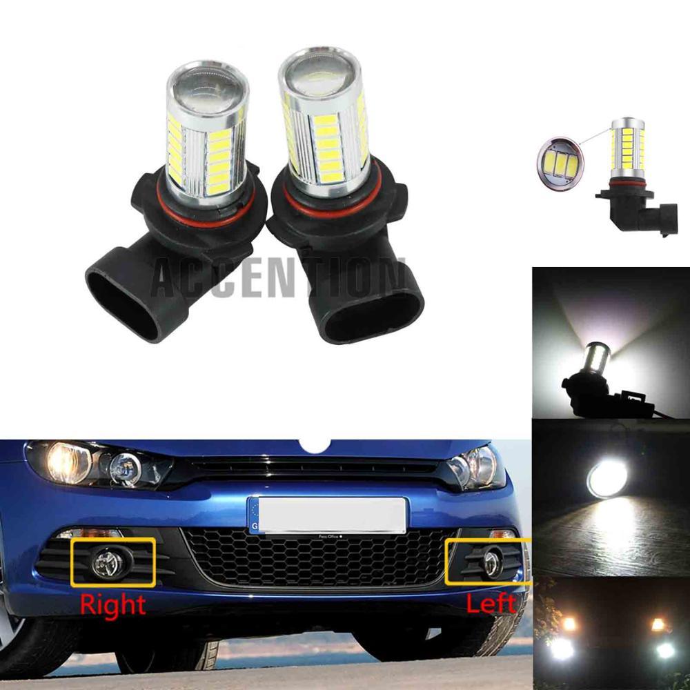 Для VW Scirocco 2009 2010 2011 2012 2013 2014 передний бампер светодиодная противотуманная фара Противотуманные фары