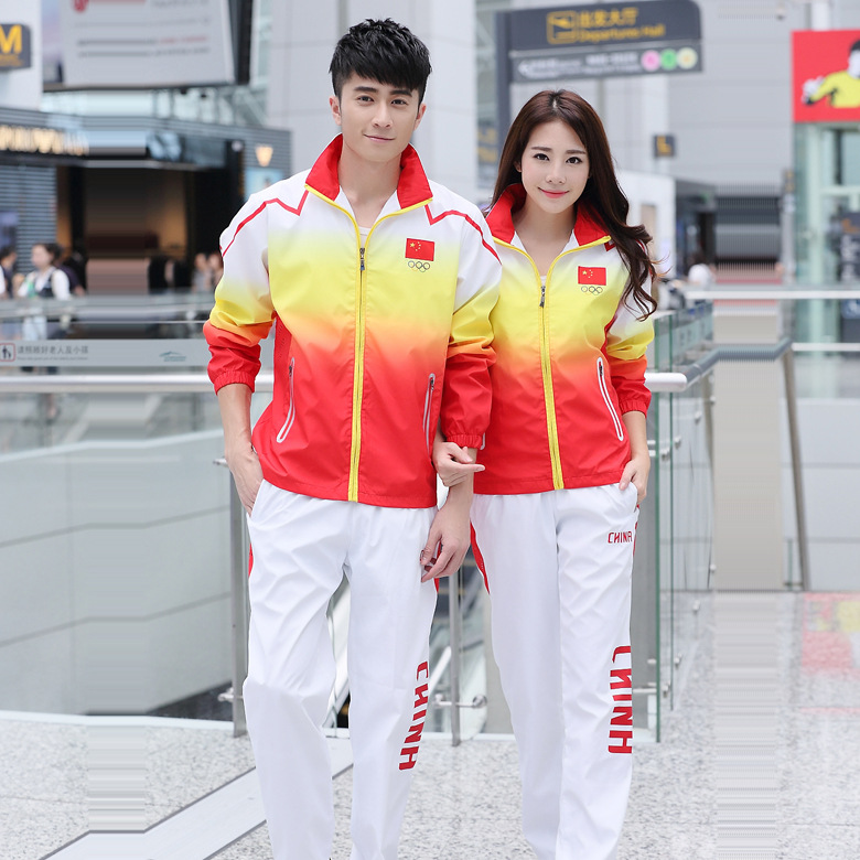 Spring And Autumn Casual Sports Couples Set Long Sleeve Men And Women Students Class School Uniform Running Couple Clothes Large