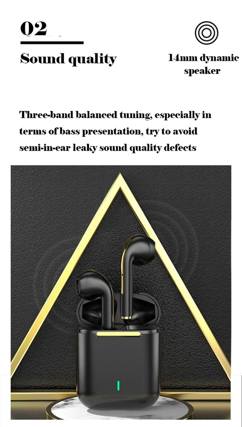 Hee5a656109e04eb9b004b76cb7168ad8g New TWS Bluetooth Headphones Stereo True Wireless Headphone Earbuds