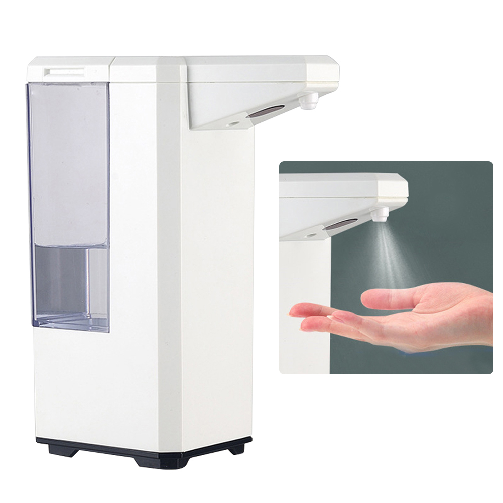 500ml Large Capacity Hand Washing Tool Alcohol Disinfection Hand Cleaning Machine (Without Battery) Sensor Hand Washing Device