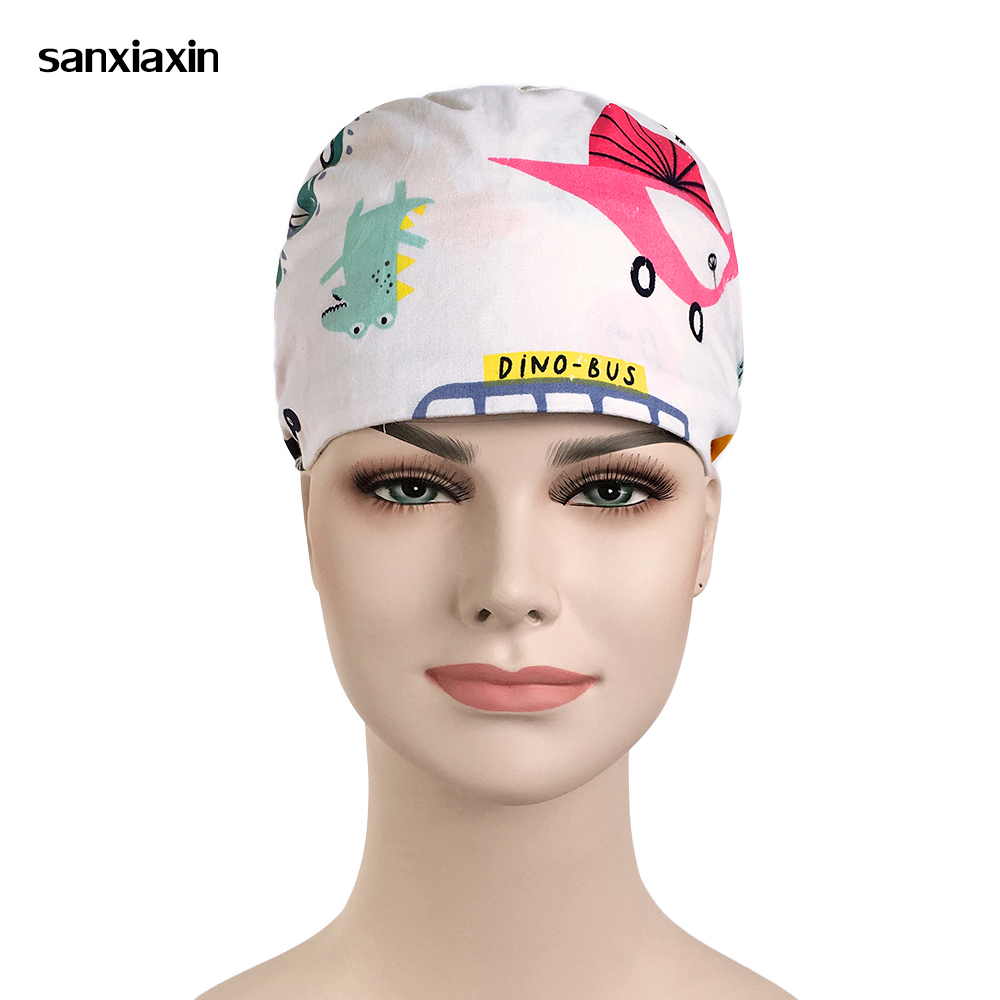 New Special Offer Surgical Cap Scrub Women's Lab Beauty Salon Medical Hats Surgery Working Dental Clinic Doctor Caps Breathable