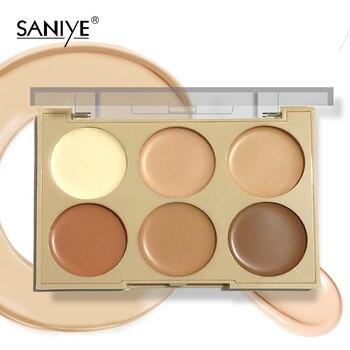 SANIYE  Cream Concealer Palette Face Contouring Makeup Base Concealer Palette Make up Pro consealer Palette R1192