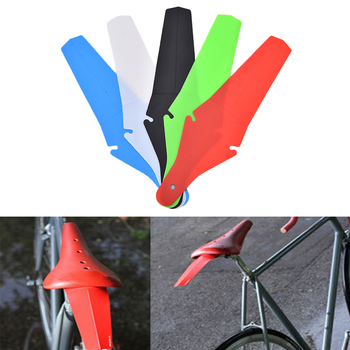 Bicycle Fender Cycling Race MTB Road Bike Fender Mudguard Commuter Saddle Ass Removable Parts Rear Bicycle Wings 5 Colors image