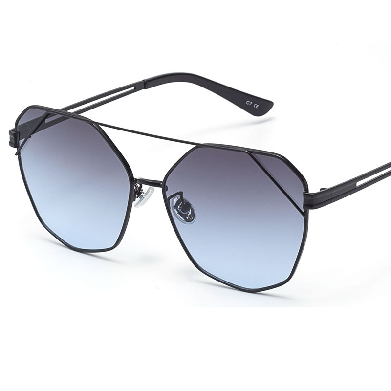 2019 New Sunglasses Women Ladies Square Pilot Luxury Designer large Frame Sunglasses Wholesale oculos okulary 18624 in Women 39 s Sunglasses from Apparel Accessories