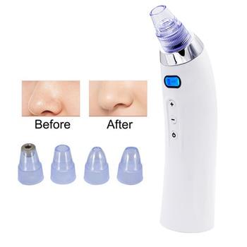 Skin Care Pore Vacuum Blackhead Remover Acne Pimple Removal Vacuum Suction Tool Face Clean Facial Diamond Derma brasion Machine