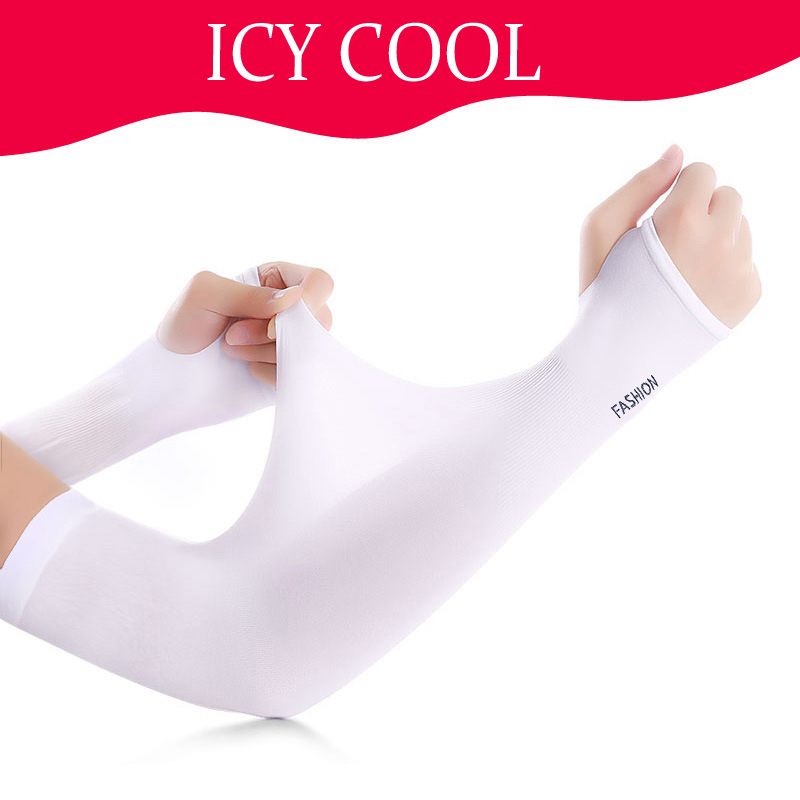 Arm Warmers Cycling Winter UV Protection Ice Cool Bike Running Fishing Climbing Driving Arm Cover Warmers Breathable Armwarmers