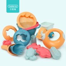 Beiens песочница для детей пластик, игрушки для пляжа для моря, песочница пластмассовая игрушки для песка, кинетический песок для отдыха на море, товары для пляжаигрушки для детей, формочки для песочниц ы игрушки дл