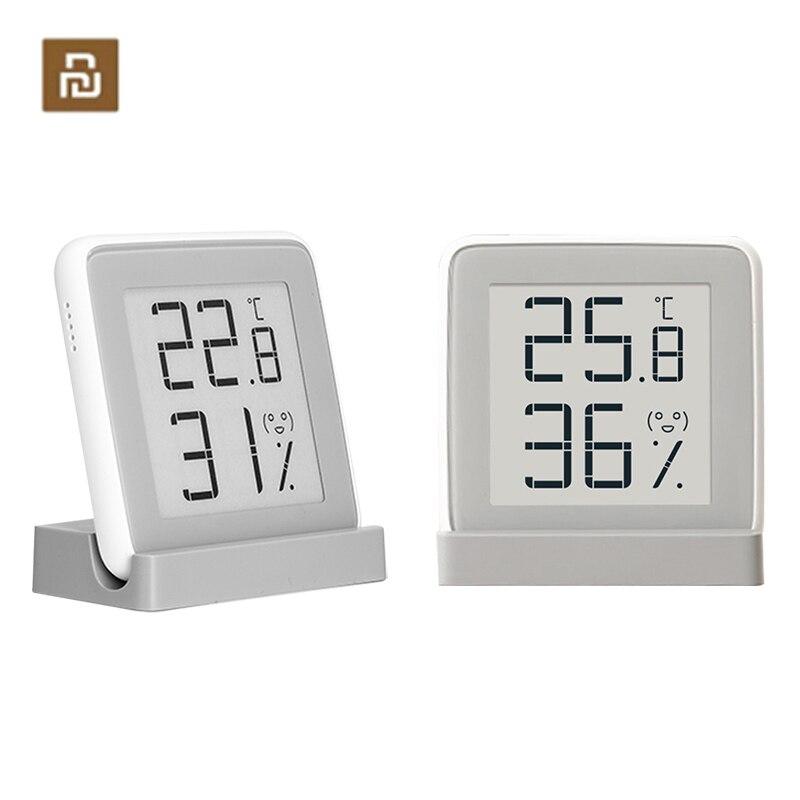 Цифровой комнатный гигрометр YouPin, термометр, метеостанция, умный электронный датчик температуры и влажности