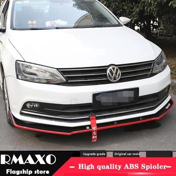 For J etta ABS Rear Bumper Diffuser Protector For 2015 Volkswagen Sagitar BT Body kit bumper rear Front shovel lip rear spoiler