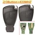 2 3 кнопки умный дистанционный ключ 433 МГц Авто подходит для Mercedes Benz B C E ML S CLK CL