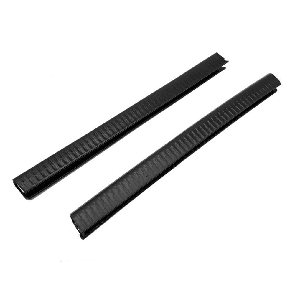 2pcs/pack U Shape Tools Crash Elastic Sports Skateboard Bumper Rubber Deck Guard Anti Collision Strip Scratchproof Longboard