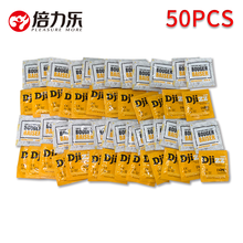 50pcs Ultra Thin Condoms Natural Latex Lubricated Condom Large Oil Contraception Sensation Sex Products For Man Penis Sleeve