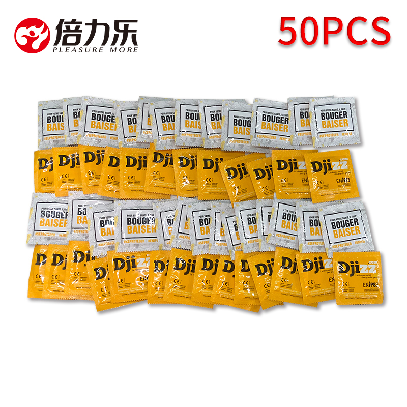 50pcs Ultra tipis Kondom Lateks Alam Pelumas Kondom Minyak Besar Kontrasepsi Sensasi Produk Seks Untuk Pria Penis Lengan