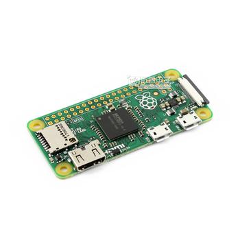 Raspberry Pi Zero W BCM2835 1GHz ARM11 pojedynczy rdzeń procesor 512MB pamięci RAM z wbudowanym bezprzewodowym zestawem startowym WiFi i Bluetooth tanie i dobre opinie hongxinyuan CN (pochodzenie) Moduł