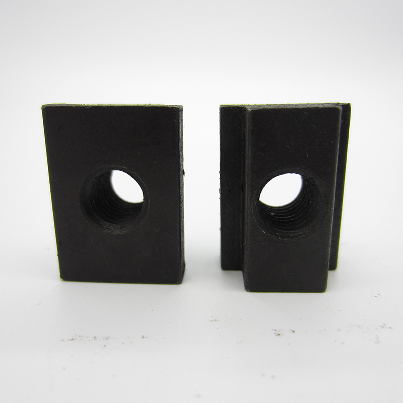 US $3.55 |5pcs M8  M10 M12 Oxide Finish black 45 steel Square Nuts High Hardness  Threads T slots In Machine Tool Tables|Nuts| |  - AliExpress