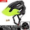 2019 corrida capacete de bicicleta com luz in-mold mtb estrada ciclismo capacete para homens mulheres ultraleve capacete esporte equipamentos de segurança 29