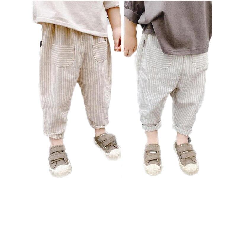 Unisex Summer Striped Harem-Pants