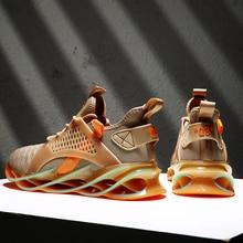 Новая трендовая спортивная обувь для мужчин амортизирующая спортивная обувь хорошего качества уличные спортивные беговые кроссовки Zapatillas