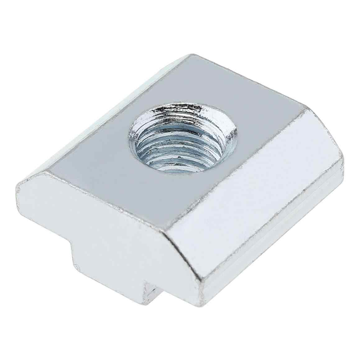 40 Series Slot T-nut Sliding T Nut Hammer Drop In Nut Fasten Connector Extrusion