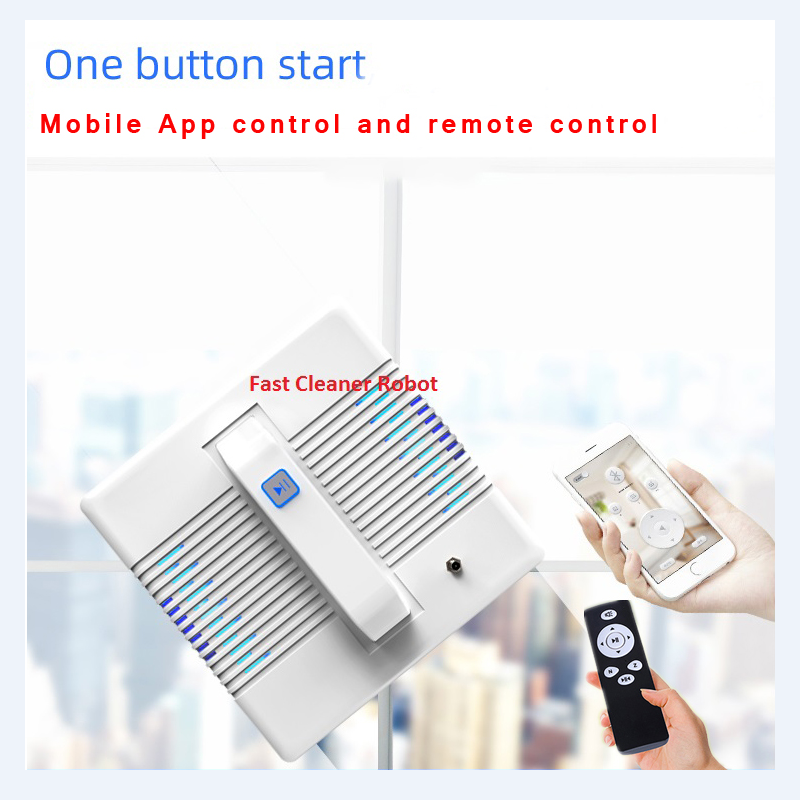 App Control Robot Window Cleaner and High-Altitude Window Cleaning Robot with Path Planning 5
