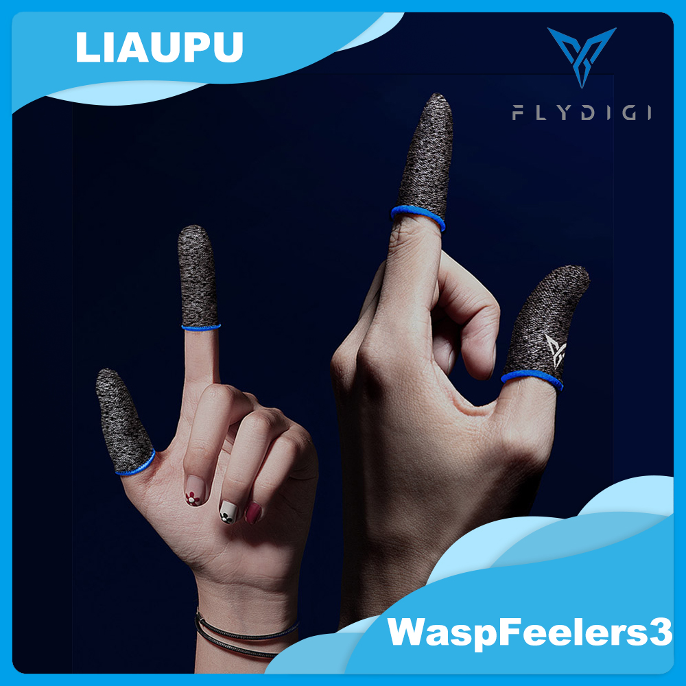 Flydigi Beehive 3 Sleep-proof Sweat-proof Professional Touch Screen Thumbs Finger Sleeve for iOS Android PUBG Mobile Game