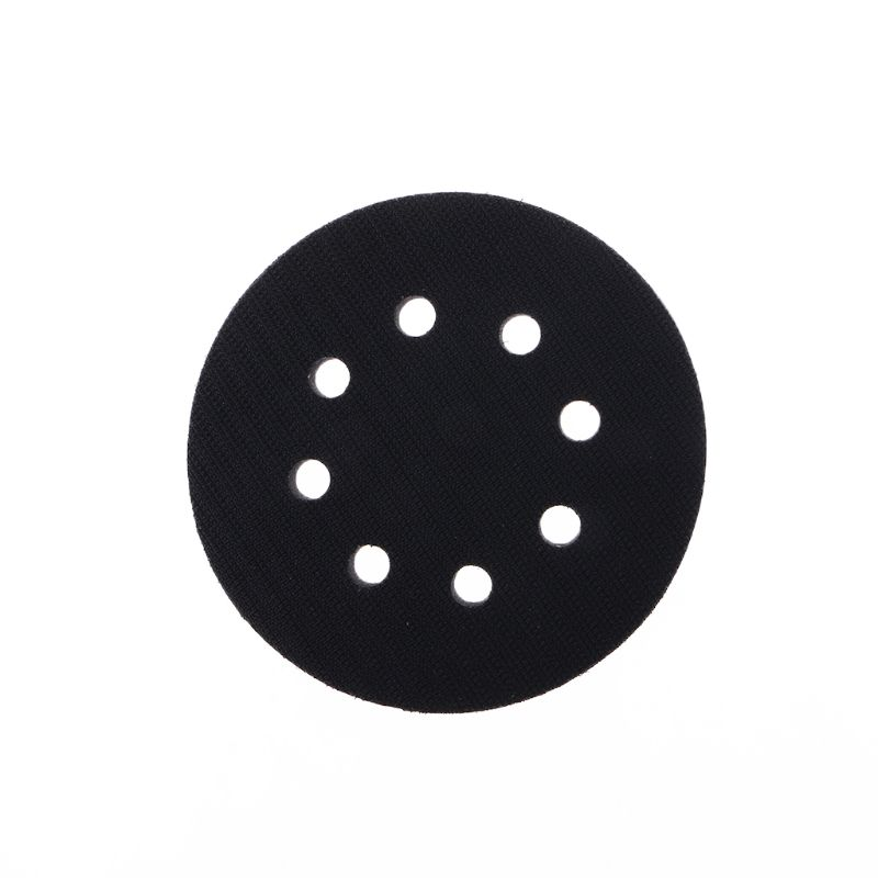 5 Inches 8-Hole Soft Sponge Interface Pad For Sanding Pads Hook&Loop Sanding Discs For Uneven Surface Polishing Power Tools