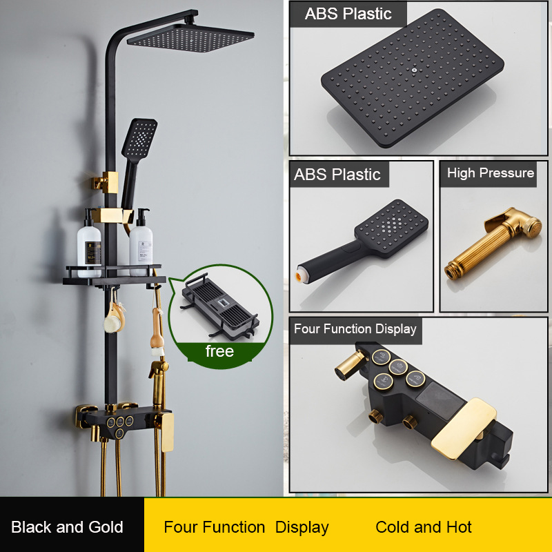 black and gold C