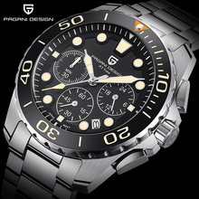 PAGANI DESIGN Business men's watches quartz multifunction wrist