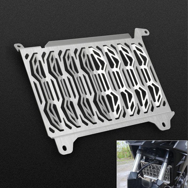 Motorcycle Radiator Protective Cover Grill Guard Grille Protector Aluminum alloy For HONDA <font><b>CB500X</b></font> <font><b>2019</b></font> image