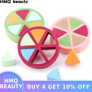 6Pcs Triangle shaped Colorful