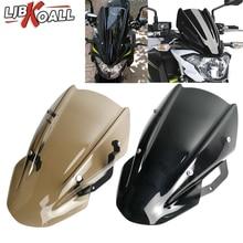 Z 650 Z-650 High Quality ABS Windscreen Windshield Shield Screen with Bracket For Kawasaki Z650 2017 2018 2019 Smoke Brown Color