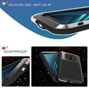 Image 3 - Металлический чехол для samsung Galaxy A5 A3 A7/Alpha противоударный чехол 360 полный корпус защитный чехол для samsung A8 A6 A9 2018 Plus